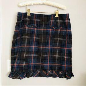 Wool CAbi Skirt Sz 14
